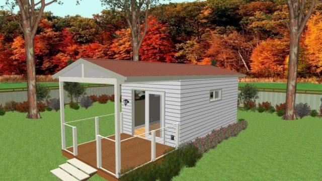 6m x 3m granny flat portable home house direct portable buildings